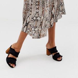 Free People Rosie Ruffle Sandal